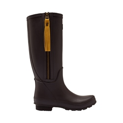 Joules Collette Wellington Boots - Dark Brown