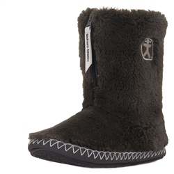 Bedroom Athletics Marilyn Slipper Boots - Charcoal