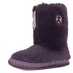 Bedroom Athletics Marilyn Slipper Boots - Grape