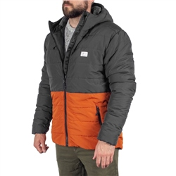 Passenger Patrol Insulated Jacket - Charcoal & Rust