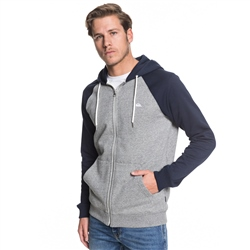 Quiksilver Everyday Mens Hoody - Grey