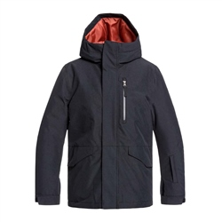 Quiksilver Mission Tech Jacket - Black