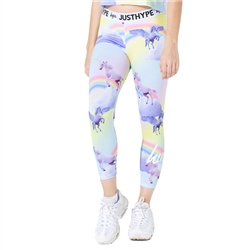 Hype Rainbow Unicorn Leggings - Multi