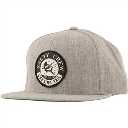 Salty Crew Streamer 6 Panel Cap - Oatmeal