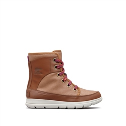 Sorel Whistler Mid Boots - Camel Brown