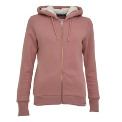 Superdry Applique Hoody - Rose