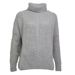 Superdry Tori Cable Jumper - Grey