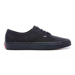 Vans Authentic Shoes  - Black & Black