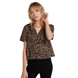 Volcom Gen Wow Top - Animal