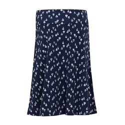 Weird Fish Malmo Skirt - Dark Navy