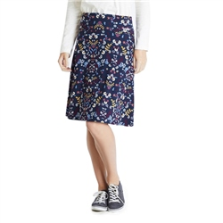 Weird Fish Malmo Skirt - Navy
