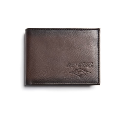 Rip Curl Rocked Wallet - Brown