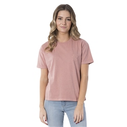 Rip Curl The Searchers T-Shirt - Rose