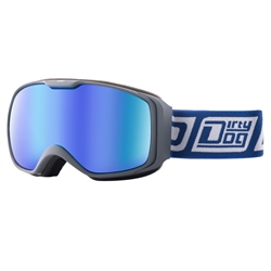 Dirty Dog Atom Snow Goggles - Grey & Blue
