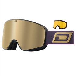 Dirty Dog Mutant Legacy 0 .5 Snow Goggles - Black & Gold