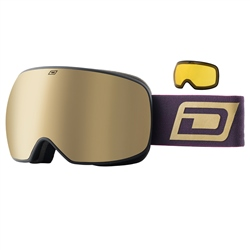 Dirty Dog Mutant Prophecy Snow Goggles - Black & Gold