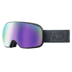 Dirty Dog Streif Snow Goggles - Black & Purple