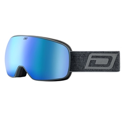 Dirty Dog Streif Snow Goggles - Grey & Blue
