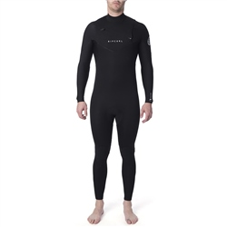 Rip Curl Dawn Patrol Chest Zip 4/3mm Wetsuit - Black (2020)