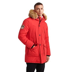 Superdry Everest Parka Jacket - Berry