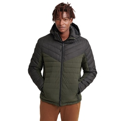 Superdry Tweed Mix Jacket - Olive