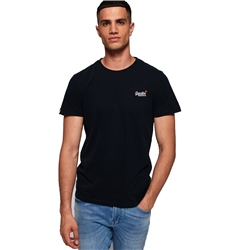 Superdry Orange Label T-Shirt - Navy