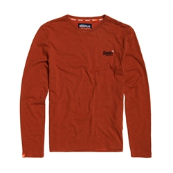 Superdry Vintage  Embroidery T-Shirt - Orange