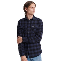 Superdry Buffalo Shirt - Blue