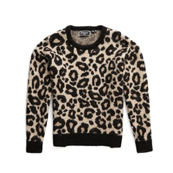 Superdry Lisa Leopard Jumper - Brown