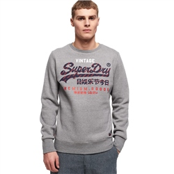 Superdry Racer Sweatshirt - Grey