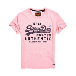 Superdry Authentic Pastel T-Shirt - Pink
