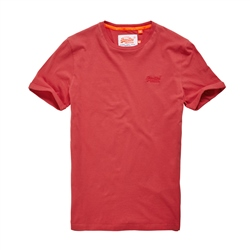 Superdry Label Lite T-Shirt - Red
