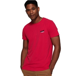 Superdry Orange T-Shirt - Raspberry