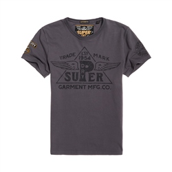 Superdry Premium Work Wear T-Shirt - Grey
