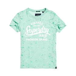 Superdry Goods Star T-Shirt - Turquoise