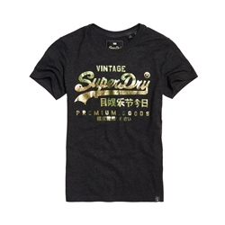 Superdry Premium Goods Puff T-Shirt - Grey