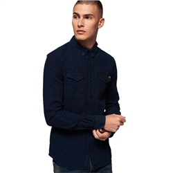 Superdry Dragway Shirt - Indigo
