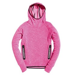 Superdry Core Gym Tech Taped Hoody - Pink
