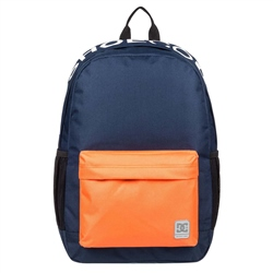 DC Shoes Backsider Backpack 18.5L - Black & Orange