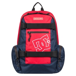 DC Shoes The Breed Backpack 26L - Red & White