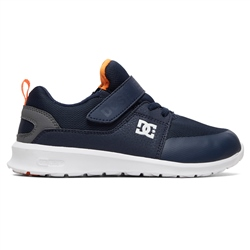DC Shoes Heathrow Prestige EV Shoes - Navy & Grey