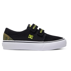 DC Shoes Trase V TX SE Shoes - Black & Yellow