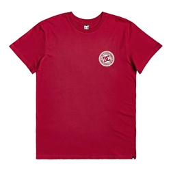 DC Shoes Circle Star T-Shirt - Red & White