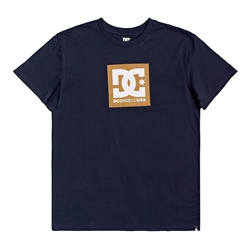 DC Shoes Square Star T-Shirt - Black Iris