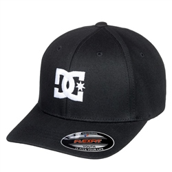 DC Shoes Cap Star Flex Fit Cap - Black