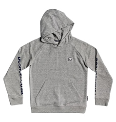 DC Shoes Burwell Hoody - Grey Heather