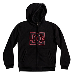 DC Shoes New Star Zipped Hoody - Black Iris