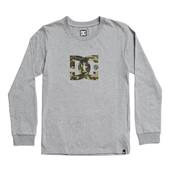 DC Shoes Star T-Shirt - Grey Heather & Camo