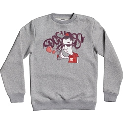 DC Shoes Karved Sweatshirt - Grey Heather