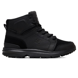 DC Shoes Torstein Leather Winter Boots - Black